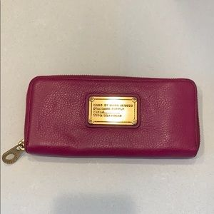 Marc Jacobs Magenta Wallet